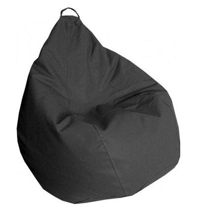 Крісло груша Практик Темно-сірий 120-90 см Tia-sport