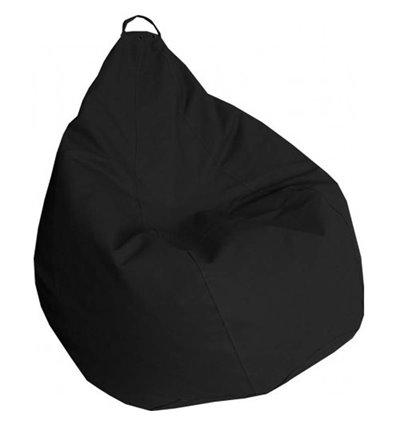 Крісло груша Практик Чорний 120-90 см Tia-sport