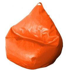 Крісло груша Фреш Оранжевий 120-90 см Tia-sport