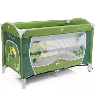 Манеж ліжечко 4Baby Vegas зелений