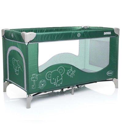 Манеж ліжечко 4Baby Royal зелений