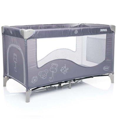 Манеж ліжечко 4Baby Royal сірий