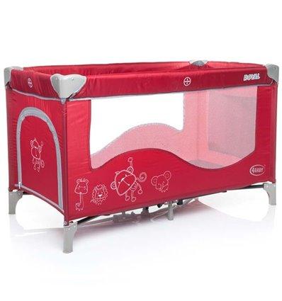 Манеж ліжечко 4Baby Royal червоний