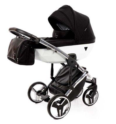 Дитяча коляска 2 в 1 Tako Junama Diamond Limited White
