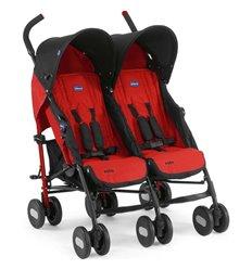 Прогулянкова коляска для двійні Chicco Echo Twin Garnet