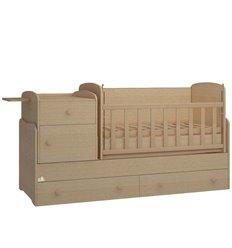Дитяче ліжко-трансформер Oris Metida Lux венге світлий