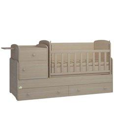 Дитяче ліжко-трансформер Oris Metida Lux дуб молочний