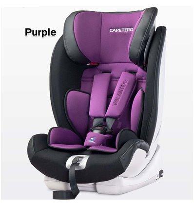 Автокрісло дитяче Caretero VolanteFix Isofix пурпурне, 9-36 кг