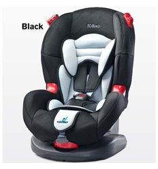 Автокрісло дитяче Caretero Ibiza чорне, 9-25 кг