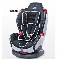 Автокрісло дитяче Caretero Sport Turbo чорне, 9-25 кг