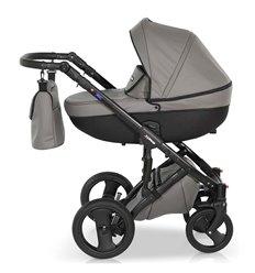 Дитяча коляска 3 в 1 Verdi Mirage 02 сіра