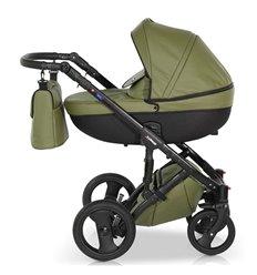 Дитяча коляска 3 в 1 Verdi Mirage 03 зелена