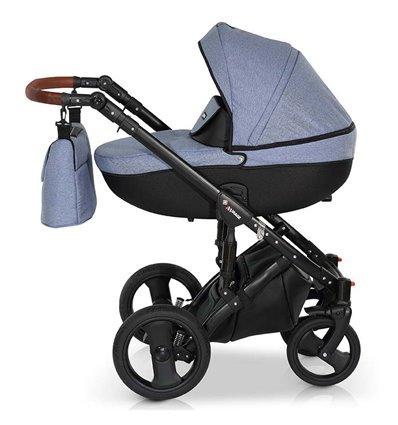Дитяча коляска 3 в 1 Verdi Mirage 05 синя