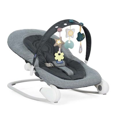Шезлонг Chicco Hoopla Dark Grey 79840.40