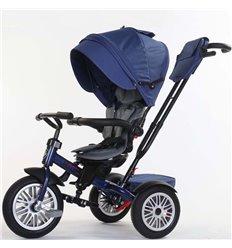 Велосипед триколісний SpeedRider з надувними колесами синій