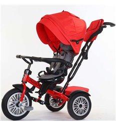 Велосипед триколісний SpeedRider з надувними колесами червоний
