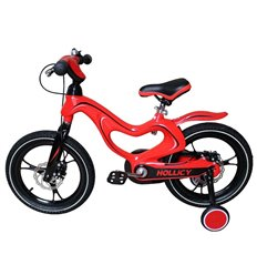 Велосипед двоколісний Hollicy MH 16'' з надувними колесами червоний