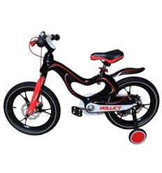 Велосипед двоколісний Hollicy MH 16'' з надувними колесами чорний