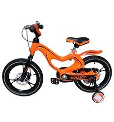 Велосипед двоколісний Hollicy MH 16'' з надувними колесами помаранчевий