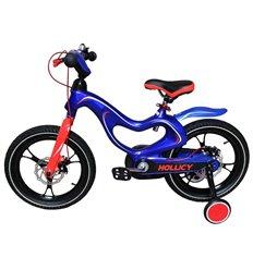 Велосипед двоколісний Hollicy MH 16'' з надувними колесами синій