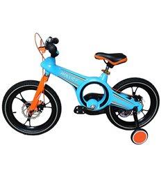 Велосипед двоколісний Hollicy MO 16'' з надувними колесами голубий