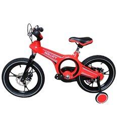 Велосипед двоколісний Hollicy MO 16'' з надувними колесами червоний
