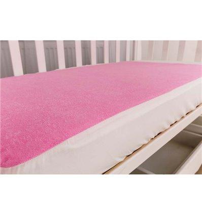 Наматрасник Twins, 60x120 см pink