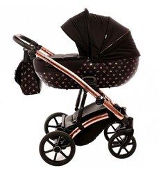 Дитяча коляска 2 в 1 Tako Laret Imperial 04 чорна