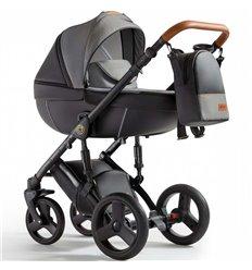 Дитяча коляска 3 в 1 Verdi Orion 01 Digital Black