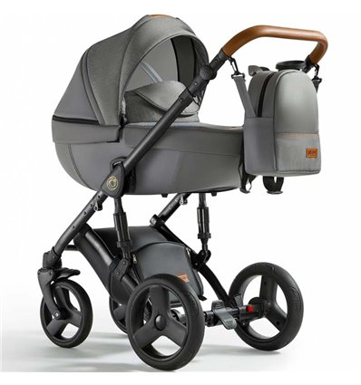 Дитяча коляска 3 в 1 Verdi Orion 02 Dark Grey