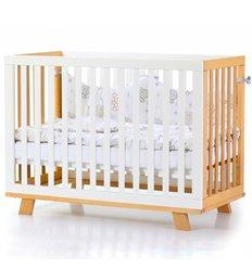 Дитяче ліжечко Верес Соня ЛД1 Манхеттен біло-букове