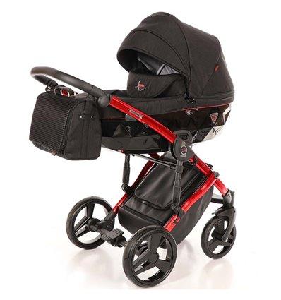 Дитяча коляска 2 в 1 Tako Junama Diamond Individual 01 червона рама