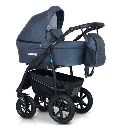 Дитяча коляска 3 в 1 Verdi Sonic Plus 09 джинс