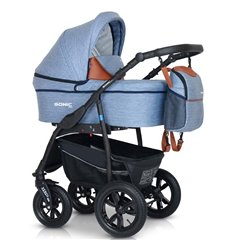 Дитяча коляска 3 в 1 Verdi Sonic Plus 11 голуба