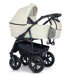 Дитяча коляска 3 в 1 Verdi Sonic Plus 12 бежева