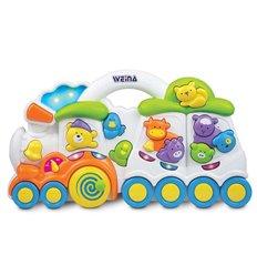 Музична іграшка Паровозик з тваринами Weina 2106