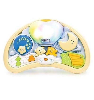Музичний нічник Ведмедики на повітряній кулі Weina 2147