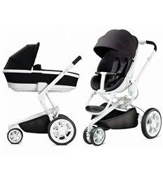 Дитяча коляска 2 в 1 Quinny Moodd Black Irony