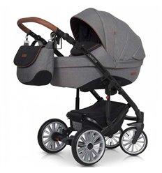 Дитяча коляска 2 в 1 Euro-Cart Delta Anthracite