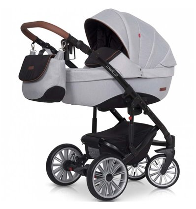 Дитяча коляска 2 в 1 Euro-Cart Delta Grey Fox