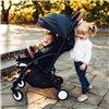 Дитяча прогулянкова коляска Lionelo Julie сіра
