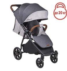 Дитяча прогулянкова коляска Coletto Nevia Dark Grey