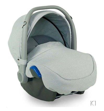 Автокрісло дитяче Bexa Kite сіре, 0-13 кг