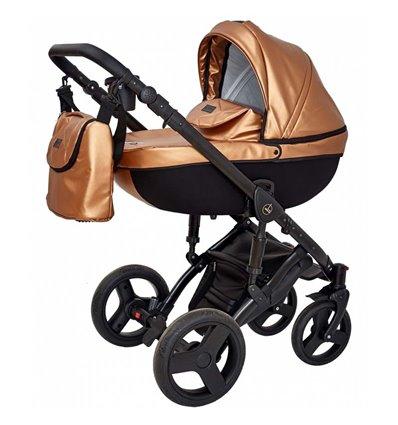 Дитяча коляска 3 в 1 Verdi Mirage Eco Premium Gold