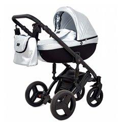 Дитяча коляска 3 в 1 Verdi Mirage Eco Premium Silver