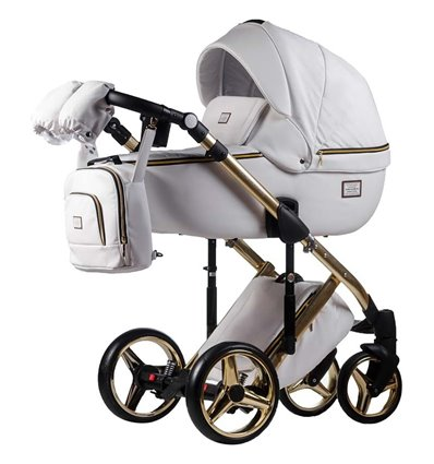 Дитяча коляска 2 в 1 Adamex Luciano Jeans Q-320