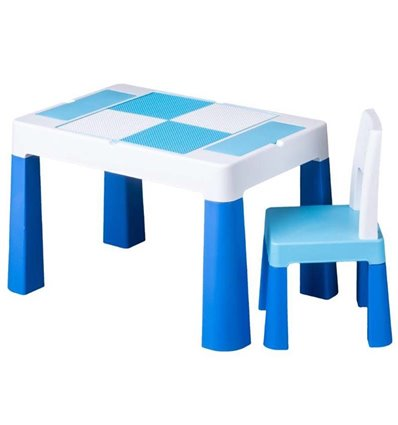 Дитячий столик зі стільчиком Tega Multifun синій
