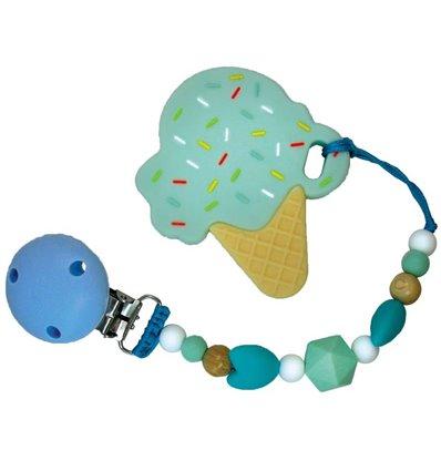 Прорізувач для зубів Tiny World Морозиво мятний