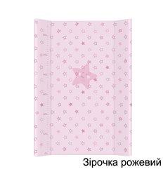 Повивальна дошка Ceba Baby 50х70 Зірочка рожевий