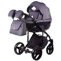 Дитяча коляска 2 в 1 Adamex Chantal С201 графіт